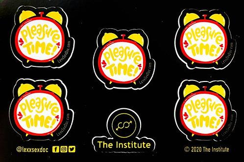 Pleasure Time Planner Stickers