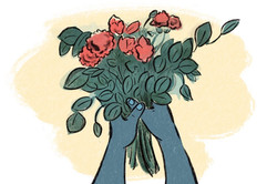 A bundle of flowers