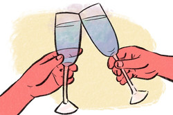 A toast to something new