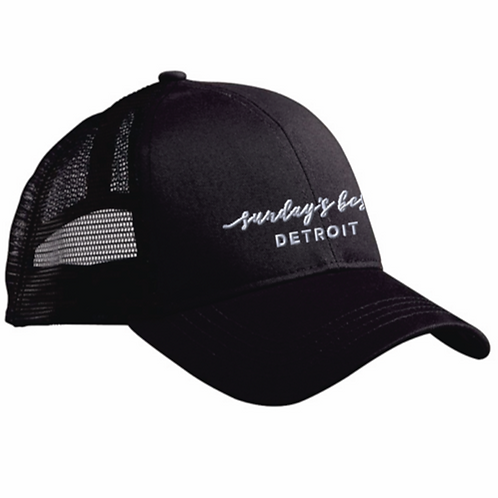 organic cotton trucker hat