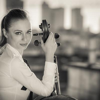 Beautiful Cellist Ania Furkałowska