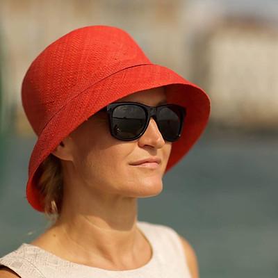 Greta in Venice