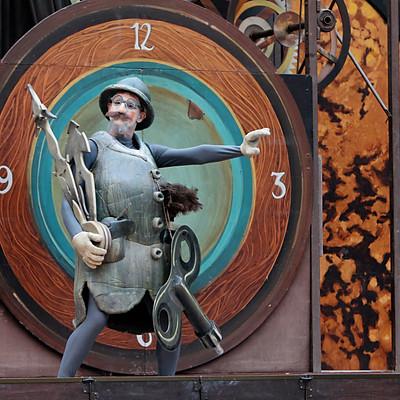 Street theater La Tal, Spain