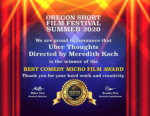 OSFF-2020S-Best Comedy Micro Film-WINNER