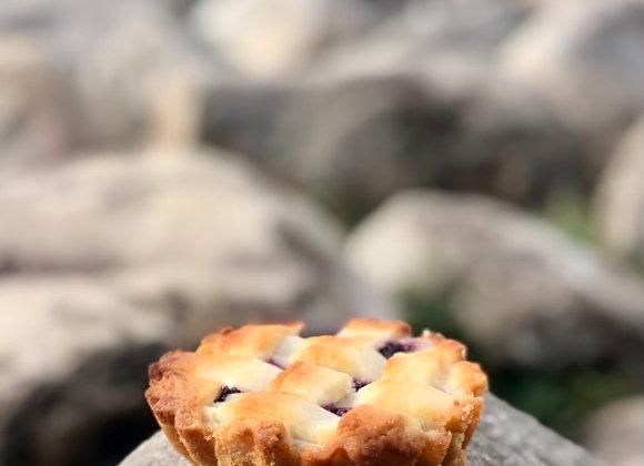Blueberry Lemon Tart (Frozen) | By Sweet'n'Sassy Patisserie