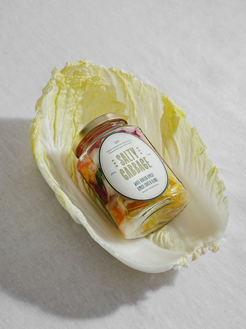 Vegan White Kimchi | By Salty Cabbage