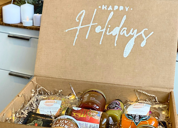 Women-Led Local Foodie Box - Holiday Gift Box