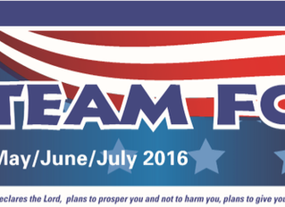 May/June/July 2016 Newsletter