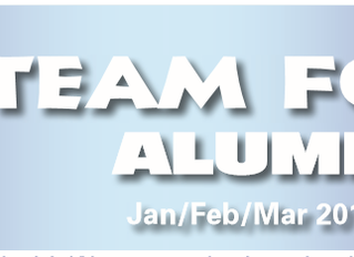 Jan/Feb/Mar 2018 Alumni Newsletter