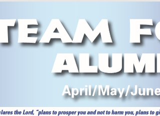 April/May/June 2018 Alumni Newsletter