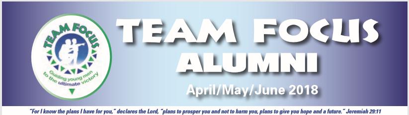 April/May/June 2018 Alumni