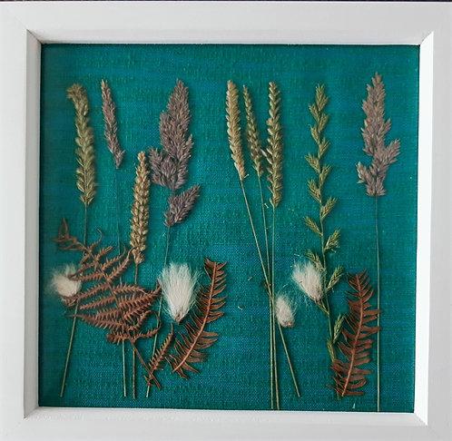 Skye wild grass collage