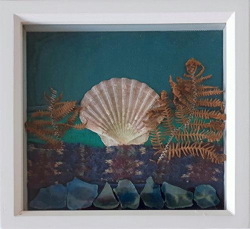 Skye  Sallop shell collage