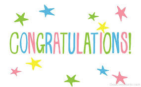 CONGRATULATIONS TO SARA FOR WINNING OUR COMPETITION
