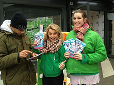 Leafleters and Flyering staff