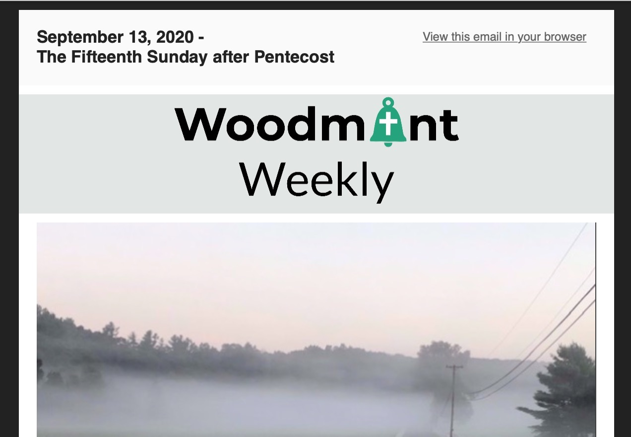 Woodmont Weekly 9-13-20
