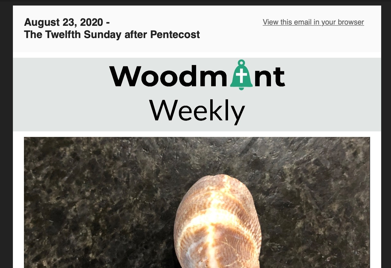 Woodmont Weekly 8-23-20