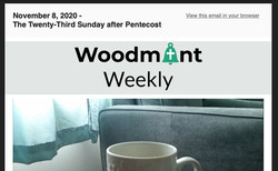 Woodmont Weekly 11-8-20