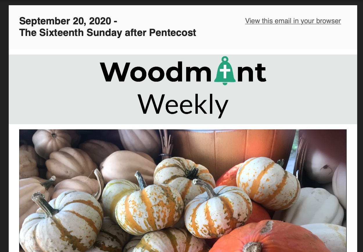 Woodmont Weekly 9-20-20