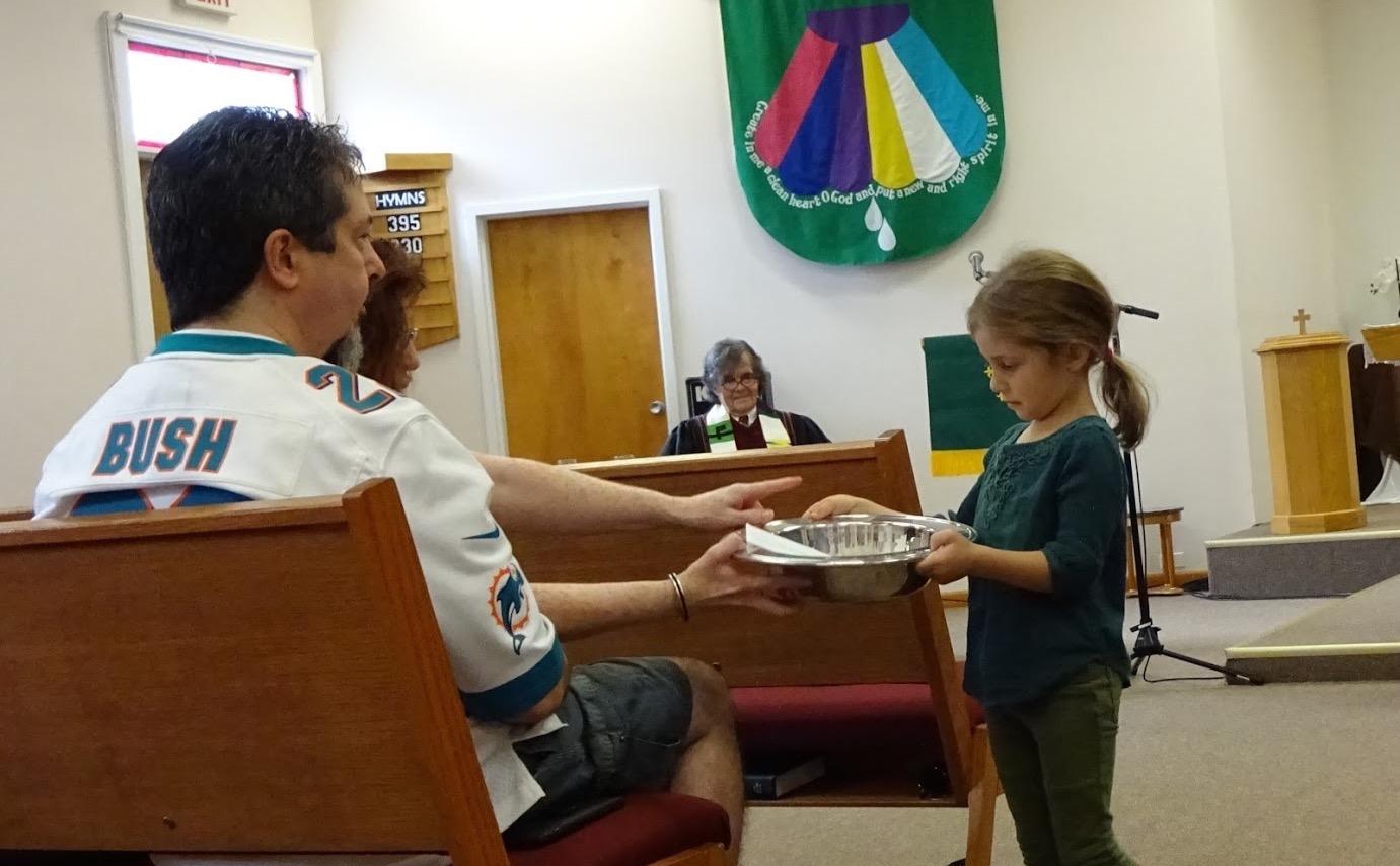Involving children in worship