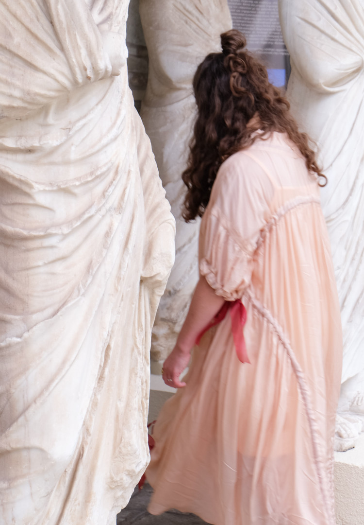 Dune Modular Dress, Bespoke Design