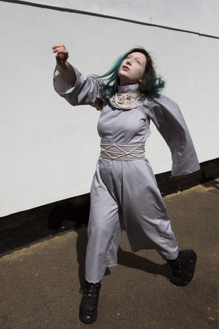 Outfit for a BBC-featured Art Performance by Natalie Wearden