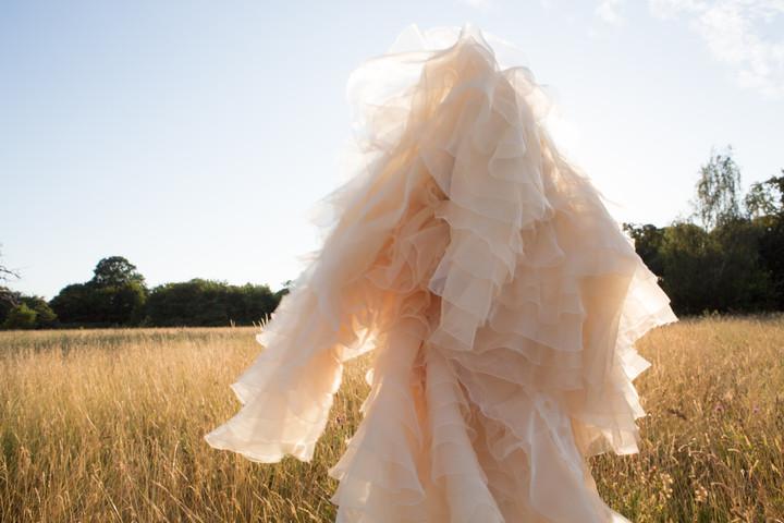 Showgirl costumes for J'Adore la Vie