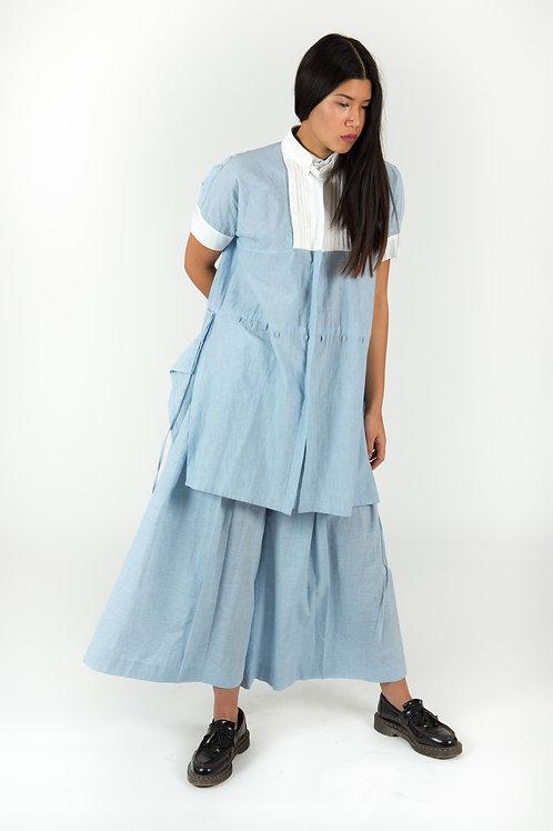 Seiryu Ice Organic Cotton Reversible Shirt