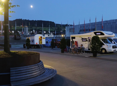 Pop-up Campingplatz
