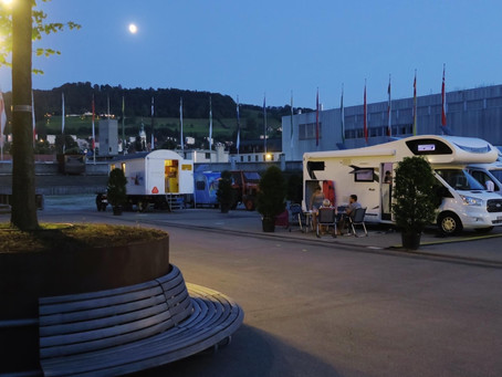Pop-up Campingplatz