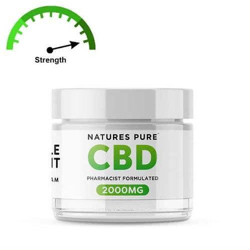 Natures Pure CBD Cream