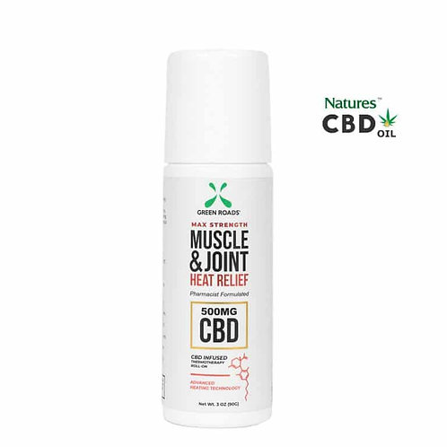 Green Roads CBD Pain Cream with Joint and Muscle Heat Relief