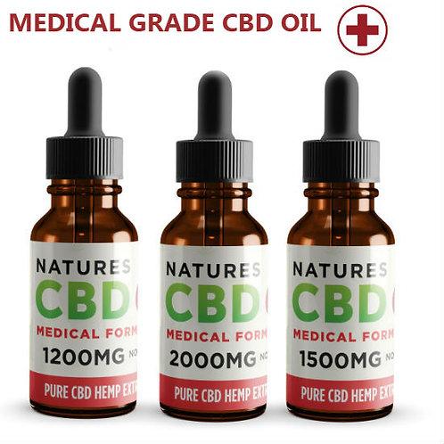 Natures Pure Medical Grade CBD Oil