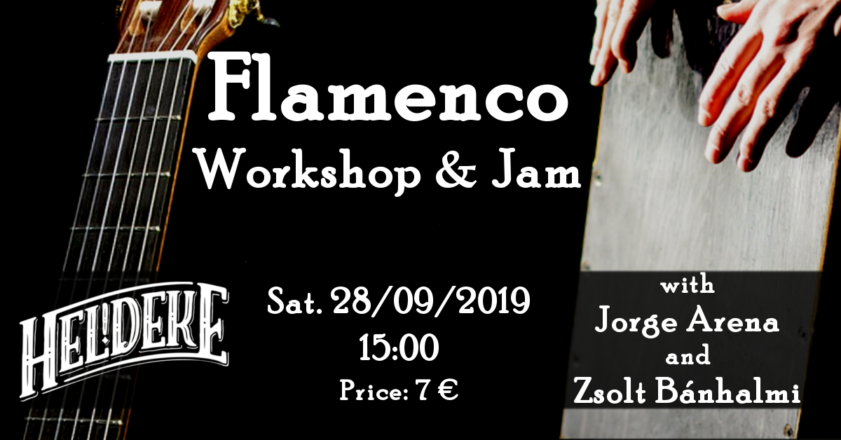 20190928 Poster Flamenco Jam Heldeke sep