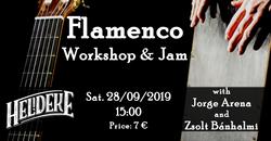 20190928 Poster Flamenco Jam Heldeke sep