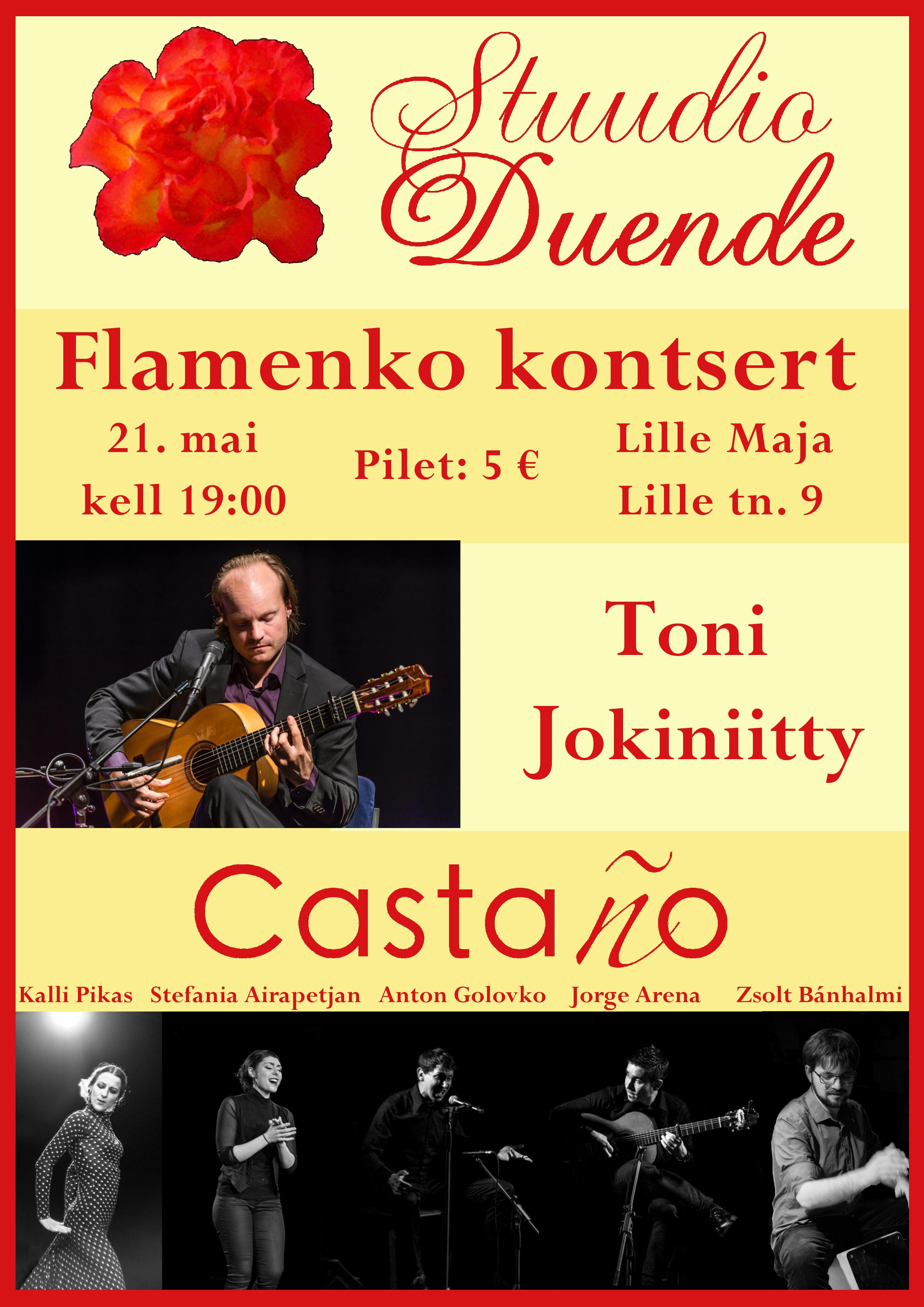 20170521 Cartel Concierto con Toni y Due