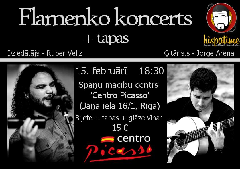 20180215 Flamecno concert Riga Centro Pi