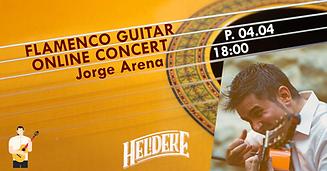 Flamenco guitar online concert - Jorge A