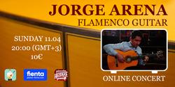 Flamenco online concert 20210411 - Jorge