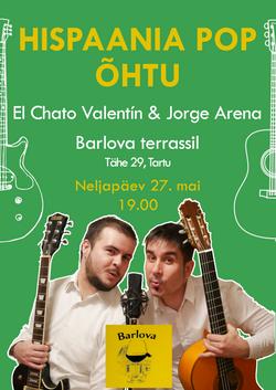 Valentín y Jorge en BARLOVA 27 MAY 21 POSTER A4