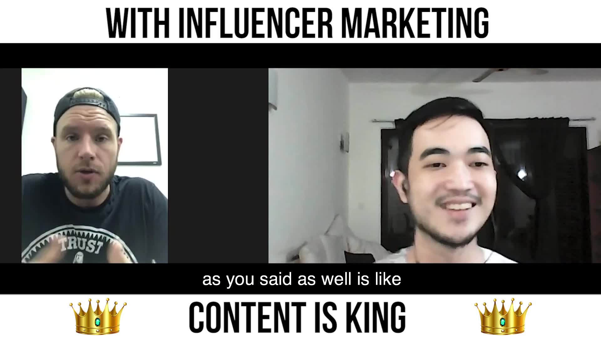With Influencer Marketing, Content is King 👑
