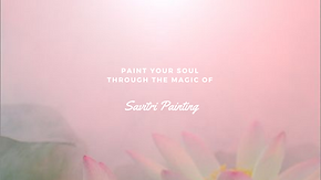 Savitri Painting Website cover photo (1)