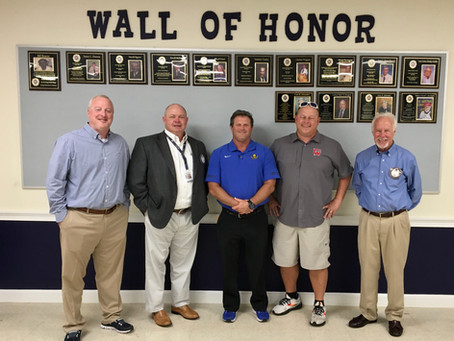 High school football coaches speak to the Exchange club of Brunswick