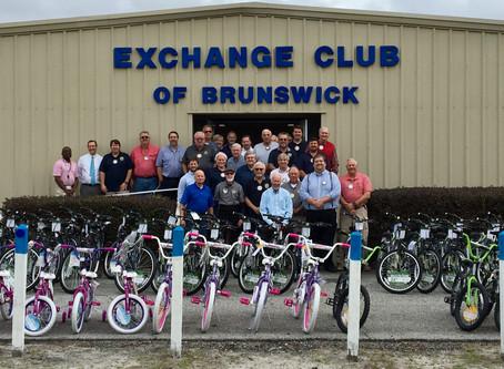 Powell McDonald annual bicycle Christmas give away