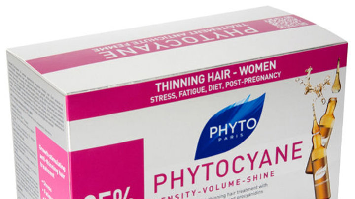 Phytocyane Treatment - Restores fullness, thickness and luster to fine hair