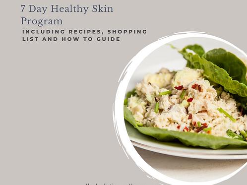 7 Day Healthy Skin Program