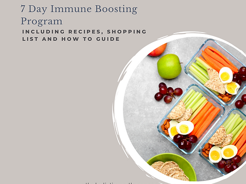 7 day Immune Boosting Program