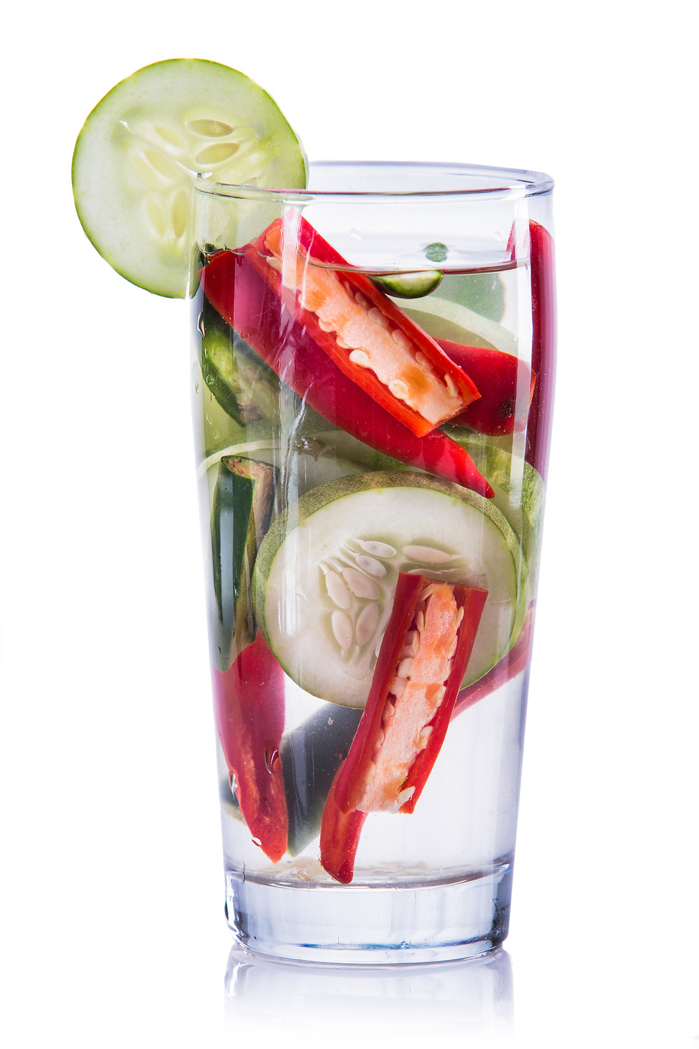 Cucumber and Cayenne Detox Water