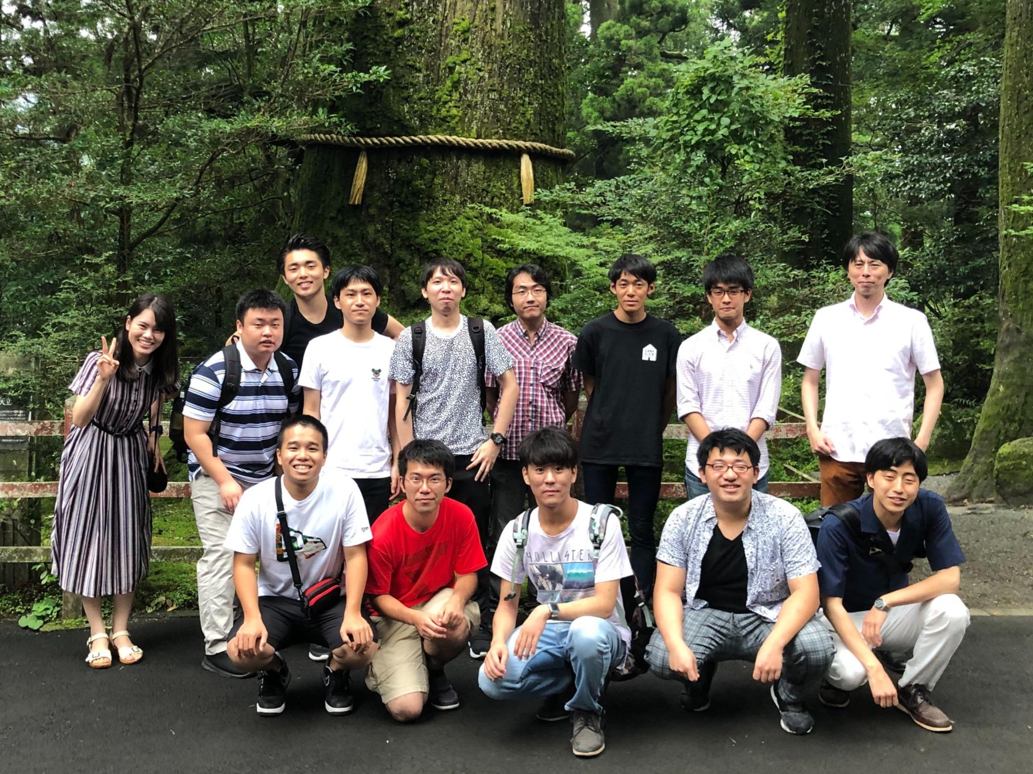 2019年ゼミ合宿(小田原-熱海)