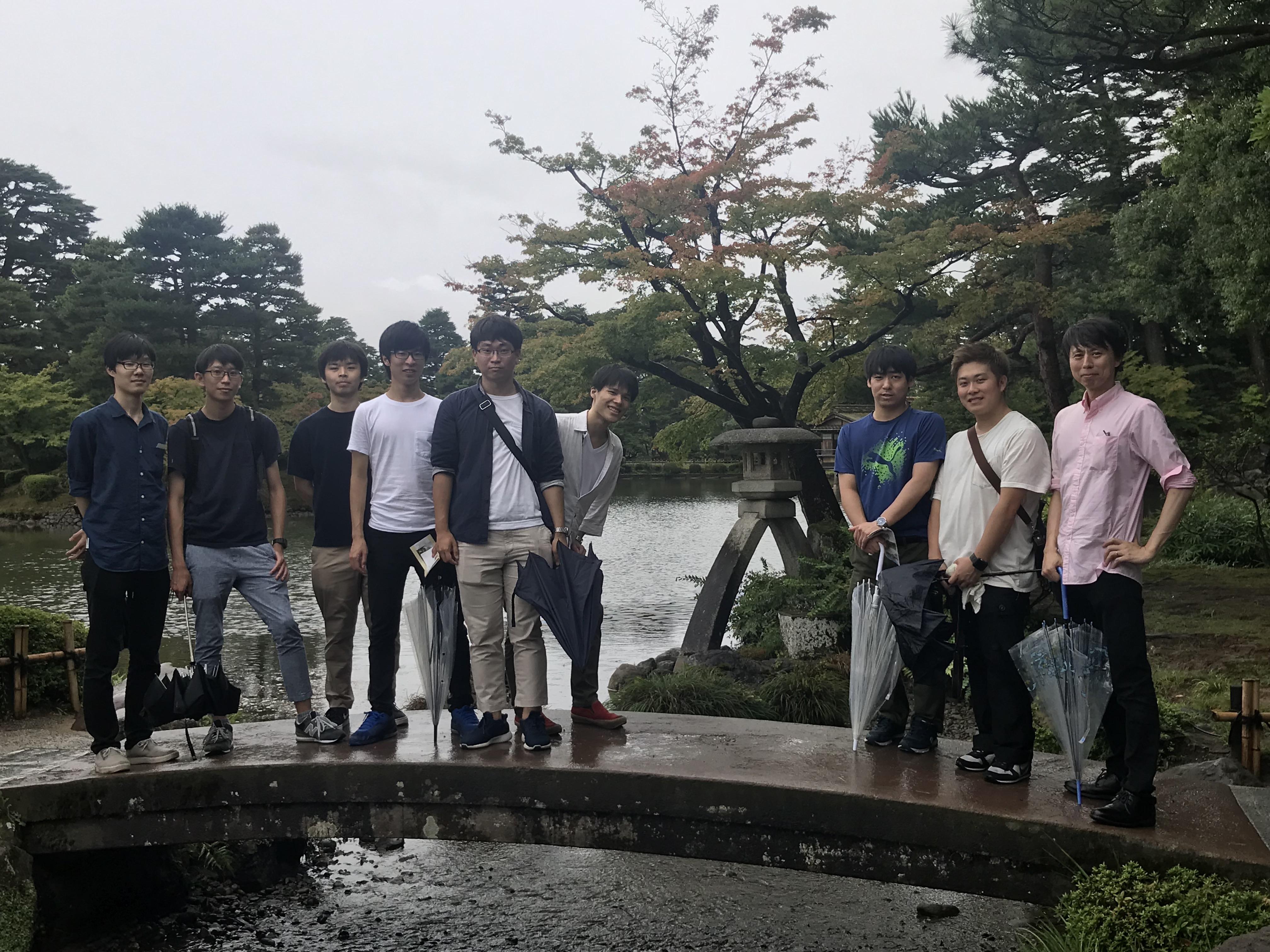 2018年ゼミ旅行は金沢に行きました。